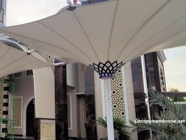 Keunggulan Kain Membrane Sebagai Atap Canopy
